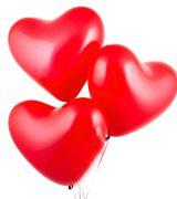 Шар гелиевый сердце