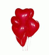 Шарик сердце 1 шт