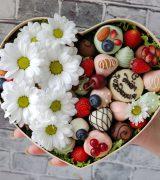 Конфеты с цветами