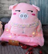 Плед-подушка «Мистер Свин».
